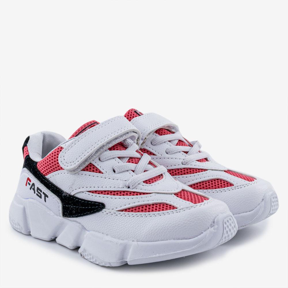 Кроссовки для девочек Jong Golf 26  белый B5542-10