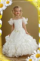 Выпускное платье для девочки Ромашка 2725 белое