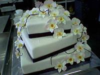 """Торт на заказ """"Орхидеи"""""""