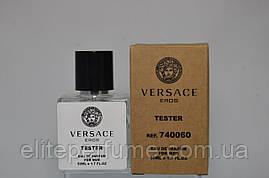 Тестер Versace Eros для Чоловіків і хлопців 50 мл виробництва ОАЕ