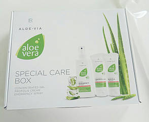 Aloe Vera набір Перша допомога   Алое Віра Бокс від Aloe Via LR - 3 продукту в одній коробці., фото 2