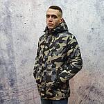 Брендовий чоловіча куртка. Чоловіча куртка камуфляж., фото 3
