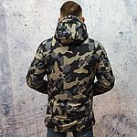 Брендовий чоловіча куртка. Чоловіча куртка камуфляж., фото 4