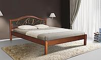 Кровать Илона 140 - 200 см (орех темный)