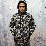 Брендовий чоловіча куртка. Чоловіча куртка камуфляж., фото 5