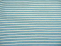 Рибана ликра с полосами голубая