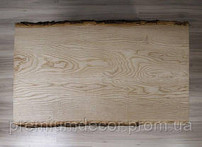 Стол из массива дерева ясеня лофт мебель 110Х60Х46 см, фото 3