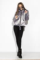 Демисезонная женская куртка 120PST021 (Сиреневый)
