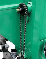 Картоплесаджалка для мінітрактора дворядна Володар КСН-90 (три крапки), фото 2
