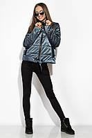 Демисезонная женская куртка 120PST021 (Темно-синий)