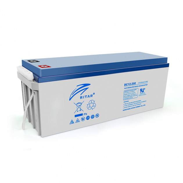 Аккумуляторная батарея Ritar AGM DC12-200 12V 200Ah