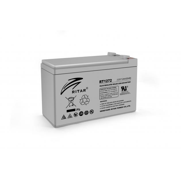 Аккумуляторная батарея Ritar AGM RT1272 12V 7.2Ah