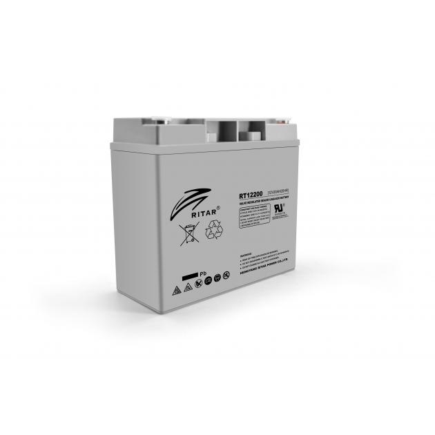 Аккумуляторная батарея Ritar AGM RT12200 12V 20Ah