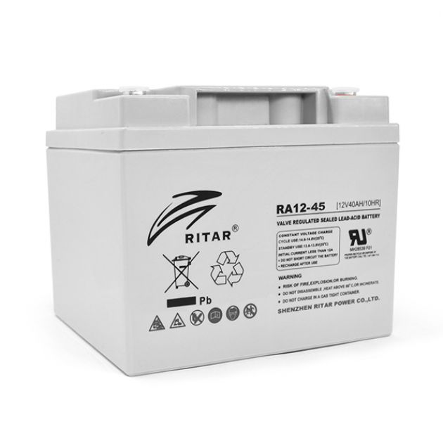 Аккумуляторная батарея Ritar AGM RA12-45 12V 45Ah