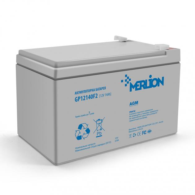 Аккумуляторная батарея Merlion AGM GP12140F2 12V 14Ah