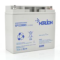 Аккумуляторная батарея Merlion AGM GP12200M5 12V 20Ah