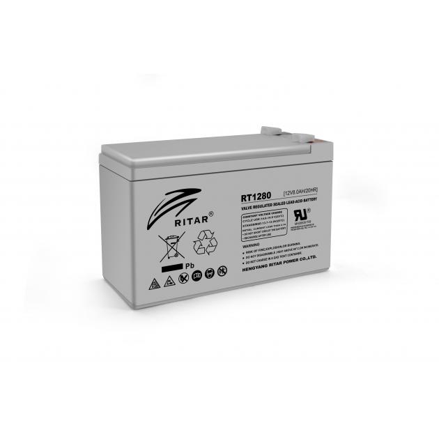 Аккумуляторная батарея Ritar AGM RT1280 12V 8Ah