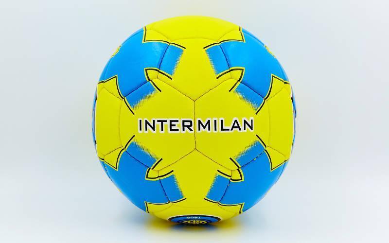 Мяч футбольный №5 Гриппи 5сл. INTER MILAN FB-0047-758 (№5, 5 сл., сшит вручную)