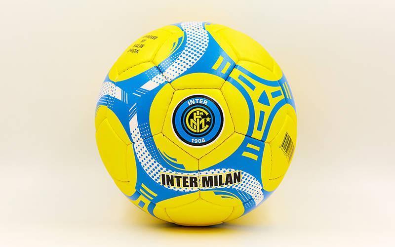 Мяч футбольный №5 Гриппи 5сл. INTER MILAN FB-6680 (№5, 5 сл., сшит вручную)