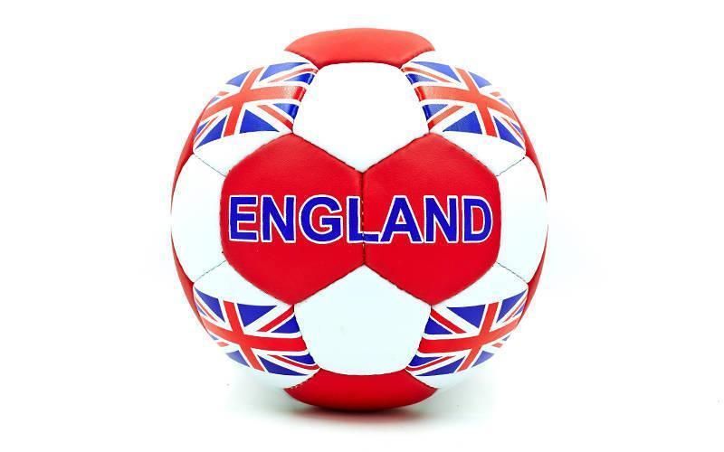 Мяч футбольный №5 Гриппи 5сл. ENGLAND FB-0047-138 (№5, 5 сл., сшит вручную)