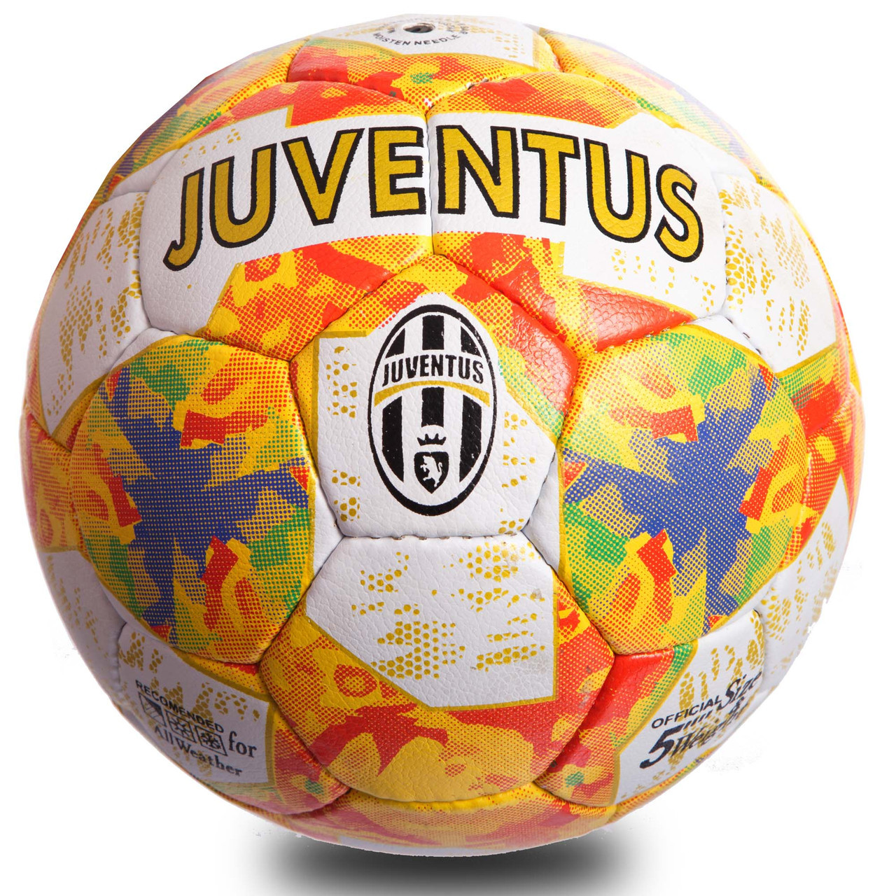 Мяч футбольный №5 Гриппи 5сл. JUVENTUS FB-0908 (№5, 5 сл., сшит вручную)