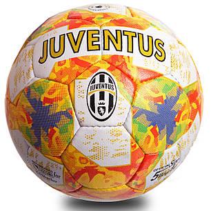 Мяч футбольный №5 Гриппи 5сл. JUVENTUS FB-0908 (№5, 5 сл., сшит вручную), фото 2