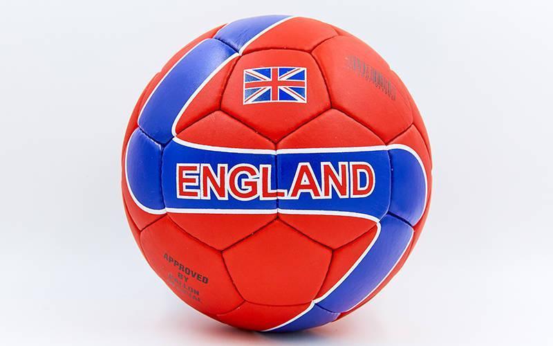 Мяч футбольный №5 Гриппи 5сл. ENGLAND FB-0047-756 (№5, 5 сл., сшит вручную)