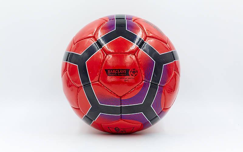 Мяч футбольный №5 PU ламин. PREMIER LEAGUE FB-5197 (№5, 5 сл., сшит вручную)