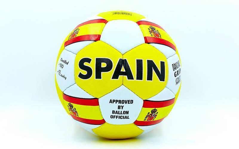 Мяч футбольный №5 Гриппи 5сл. SPAIN FB-0047-135 (№5, 5 сл., сшит вручную)