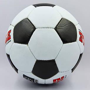 Мяч футбольный №5 PU ламин. PELE FB-0174 (№5, 5 сл., сшит вручную), фото 2