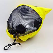 Мяч футбольный №5 PU ламин. PELE FB-0174 (№5, 5 сл., сшит вручную), фото 3