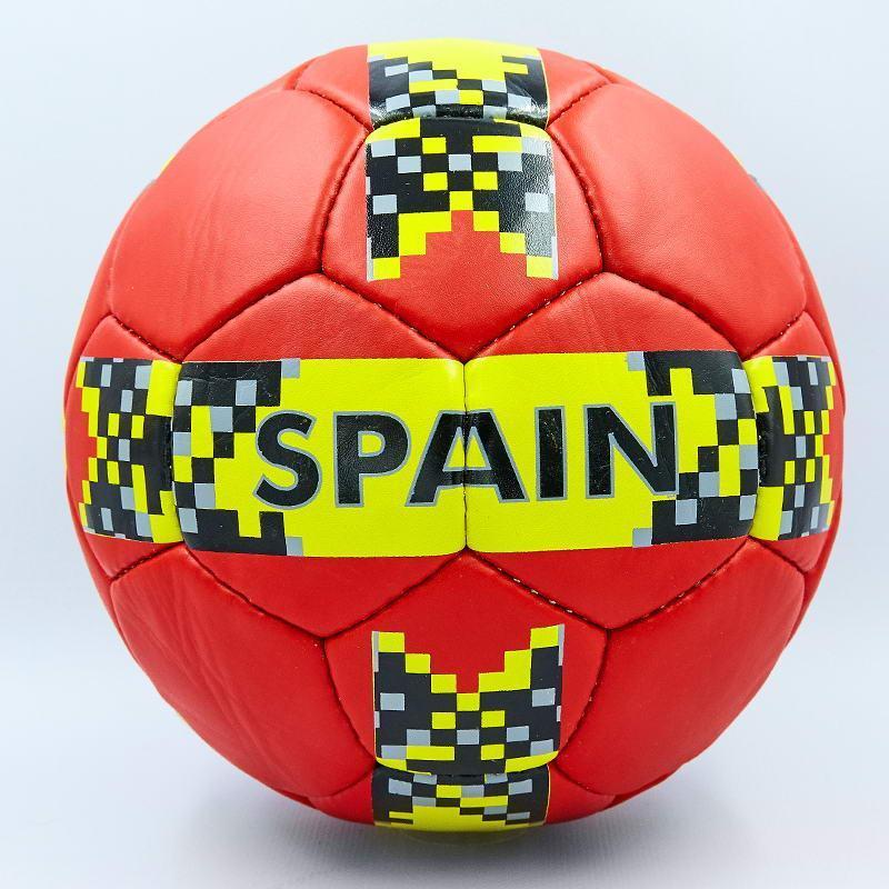 Мяч футбольный №5 Гриппи 5сл. SPAIN FB-0123 (№5, 5 сл., сшит вручную)