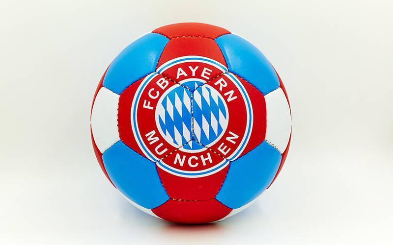 Мяч футбольный №5 Гриппи 5сл. BAYERN MUNCHEN FB-0047M-450 (№5, 5 сл., сшит вручную)