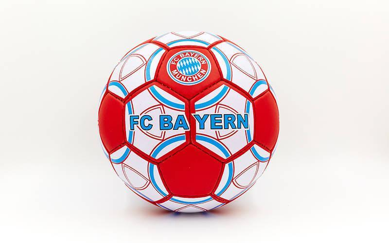 Мяч футбольный №5 Гриппи 5сл. BAYERN MUNCHEN FB-0047-153 (№5, 5 сл., сшит вручную)
