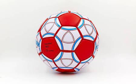 Мяч футбольный №5 Гриппи 5сл. BAYERN MUNCHEN FB-0047-153 (№5, 5 сл., сшит вручную), фото 2