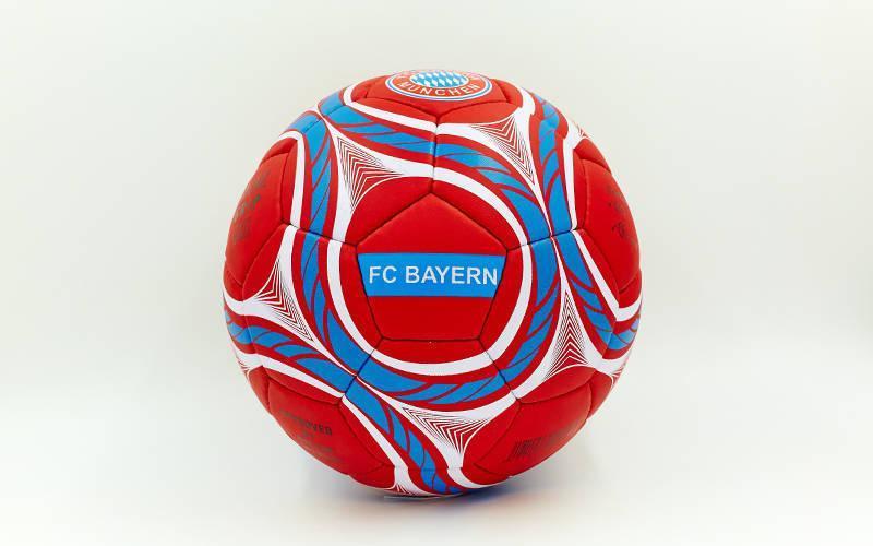 Мяч футбольный №5 Гриппи 5сл. BAYERN MUNCHEN FB-0047-158 (№5, 5 сл., сшит вручную)