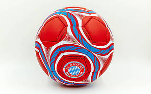 Мяч футбольный №5 Гриппи 5сл. BAYERN MUNCHEN FB-0047-158 (№5, 5 сл., сшит вручную), фото 2