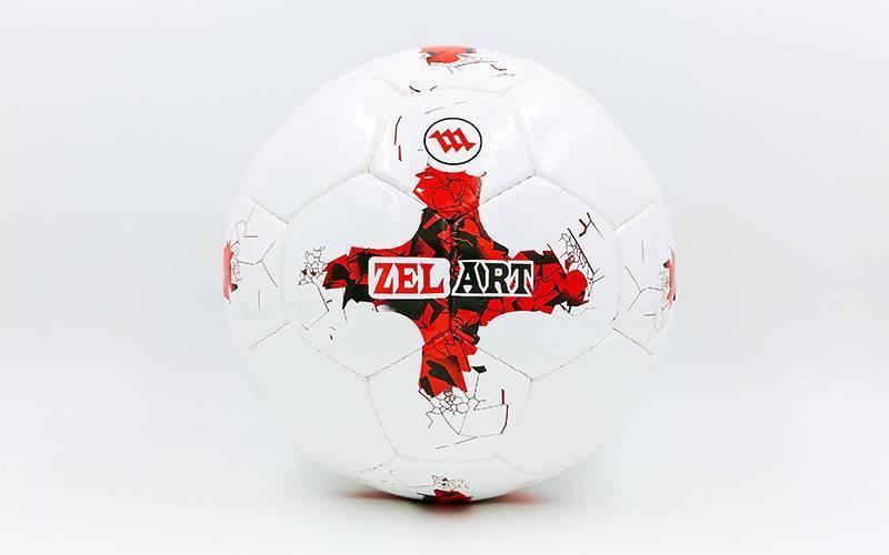 Мяч футбольный №5 PU ламин. FIFA CONFEDERATIONS CUP FB-6440 (№5, 5 сл., сшит вручную)