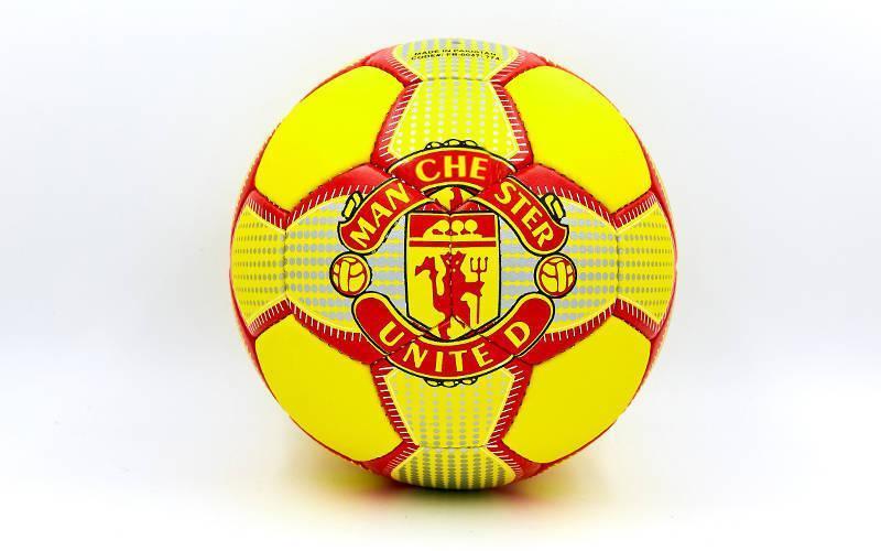 Мяч футбольный №5 Гриппи 5сл. MANCHESTER FB-0047-774 (№5, 5 сл., сшит вручную)