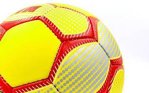Мяч футбольный №5 Гриппи 5сл. MANCHESTER FB-0047-774 (№5, 5 сл., сшит вручную), фото 3