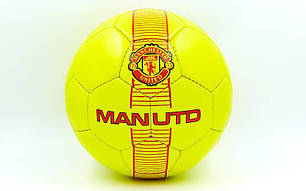 Мяч футбольный №5 Гриппи 5сл. MANCHESTER FB-6716 (№5, 5 сл., сшит вручную), фото 2