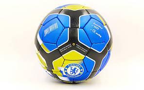Мяч футбольный №5 Гриппи 5сл. CHELSEA FB-6698 (№5, 5 сл., сшит вручную), фото 2