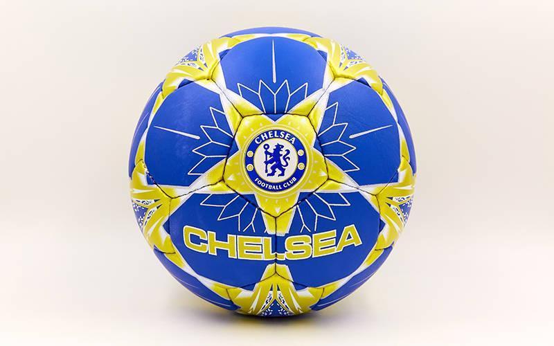 Мяч футбольный №5 Гриппи 5сл. CHELSEA FB-6701 (№5, 5 сл., сшит вручную)