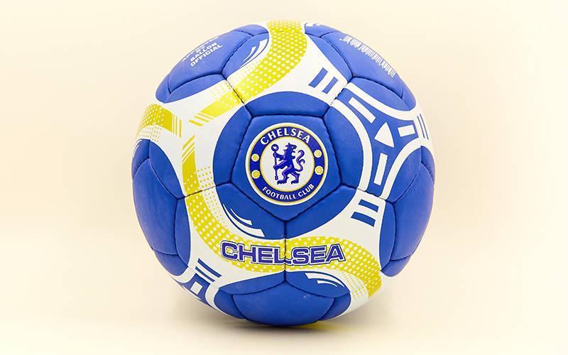 Мяч футбольный №5 Гриппи 5сл. CHELSEA FB-6697 (№5, 5 сл., сшит вручную)
