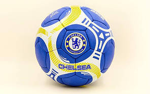 Мяч футбольный №5 Гриппи 5сл. CHELSEA FB-6697 (№5, 5 сл., сшит вручную), фото 2