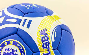 Мяч футбольный №5 Гриппи 5сл. CHELSEA FB-6697 (№5, 5 сл., сшит вручную), фото 3