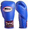 Перчатки боксерские кожаные на шнуровке TWINS BGLL1 (р-р 12-18oz, цвета в ассортименте), фото 4