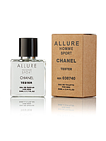 Тестер Chanel Allure homme Sport для Мужчин и парней 50 мл производства ОАЭ