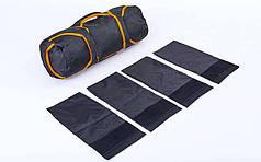 Сумка для кроссфита TRAINING BAG FI-5028 (терилен, нейлон, р-р 60х20см, 4 филлера до 10кг для песка)