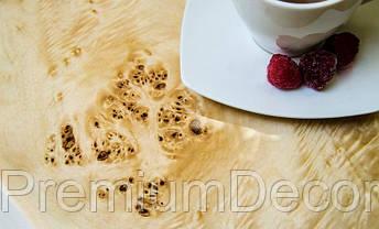 Стол из массива дерева тополя лофт мебель 70Х70Х46 см, фото 3